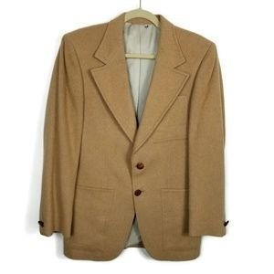 Vintage LeBaron Camel Sport Coat Men's Size 35